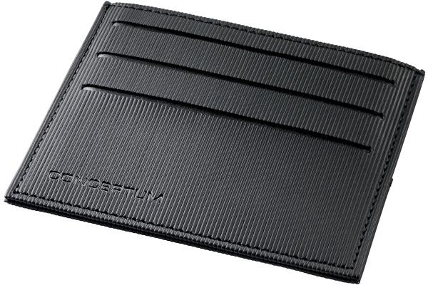 SIGEL Kreditkartenetui CO900 105x85x5mm schwarz