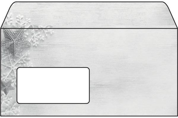 SIGEL Couverts C6/5 DU248/W Frozen Stars 90g,50 Stück