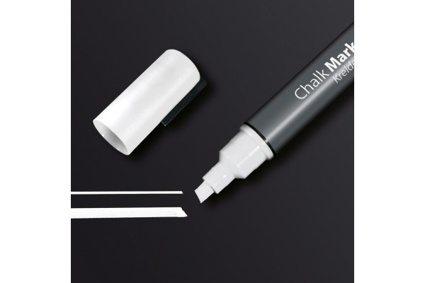 SIGEL Chalk Marker 1-5mm GL181 weiss