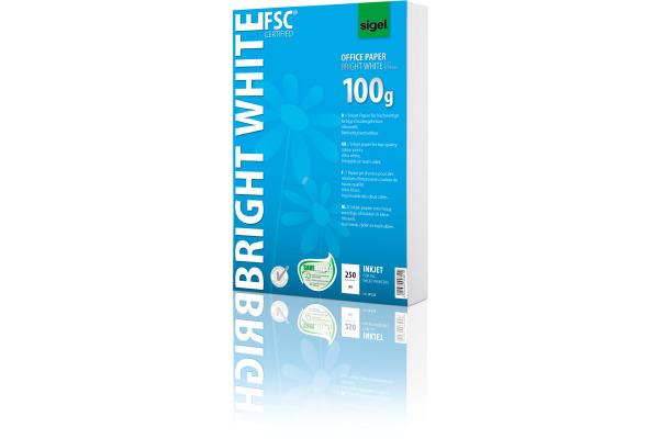 SIGEL Inkjet-Papier A4 IP125 100g Bright white 250 Blatt