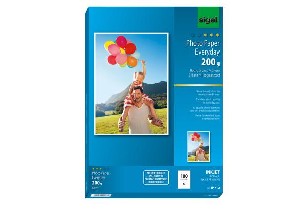 SIGEL InkJet Photo Paper Everyday A4 IP712 200g glossy...