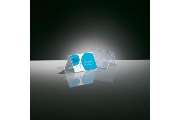 SIGEL Tischsteller Gr. 2 100x60mm TA136 transparent 10 Stück