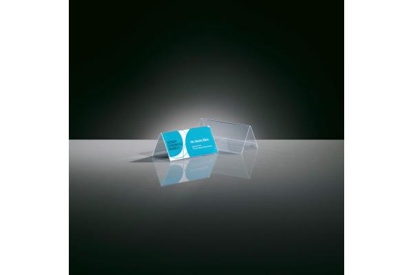 SIGEL Tischsteller Gr. 1 95x42mm TA138 transparent 10 Stück