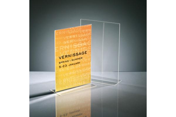 SIGEL Tischsteller A4 TA220 transparent