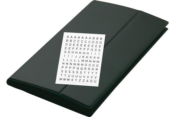 Sigel Visitenkarten Mappe 300x180mm Vz175 Schwarz Für 288 Karten
