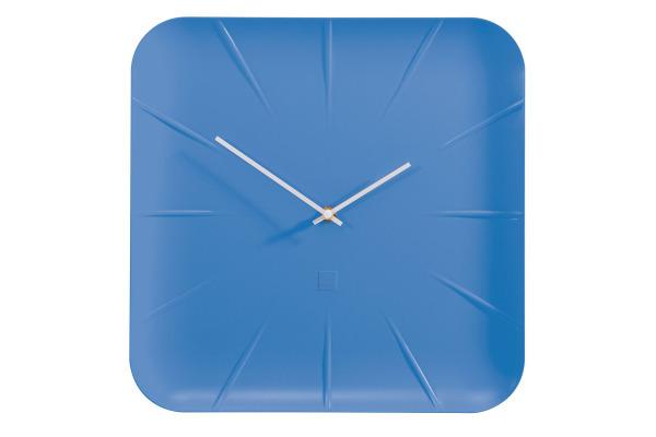 SIGEL Wanduhr artetempus Inu WU141 blau 35x35x4.5cm
