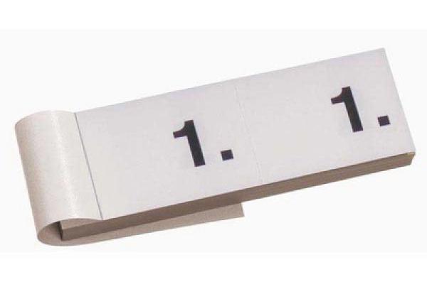 SIMPLEX Garderobenblock 1-100 13070 weiss 100 Blatt