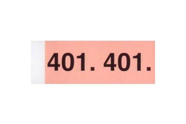 SIMPLEX Garderobenblock 101-200 13080 orange 100 Blatt