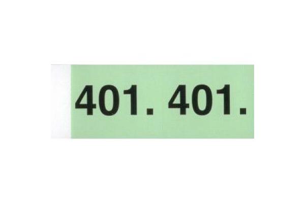 SIMPLEX Garderobenblock 101-200 13081 grün 100 Blatt