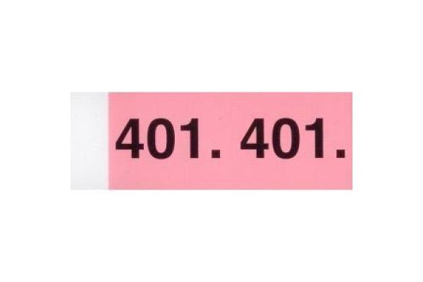 SIMPLEX Garderobenblock 101-200 13083 pink 100 Blatt