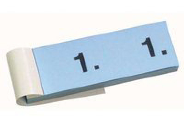SIMPLEX Garderobenblock 201-300 13089 blau 100 Blatt