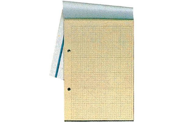 SIMPLEX Konferenzblock A4 13126 kariert, 80g 50 Blatt