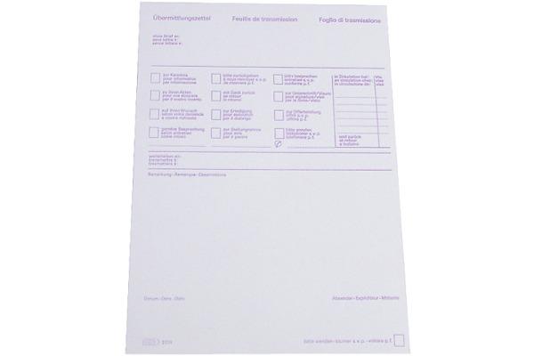 SIMPLEX Übermittlungslbock D/F/I A5 13223 60g 70 Blatt