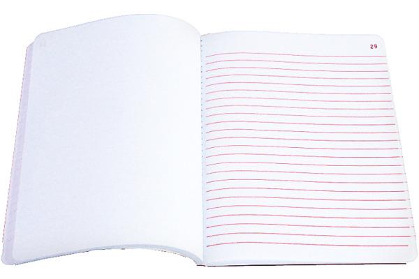 SIMPLEX Kommissionsbuch A5 14004 rot 50x2 Blatt