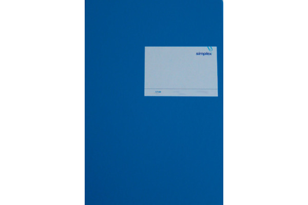 SIMPLEX Geschäftsbuch A4 17109 blau 40 Blatt
