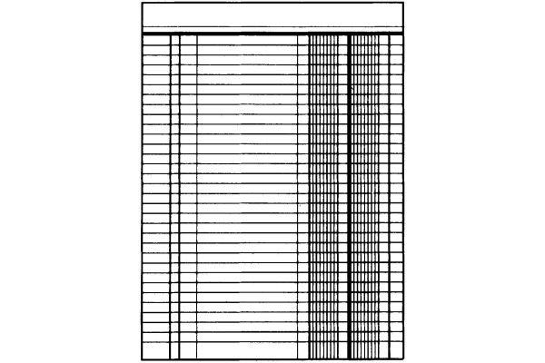 SIMPLEX Geschäftsbuch A4 17181 blau 40 Blatt