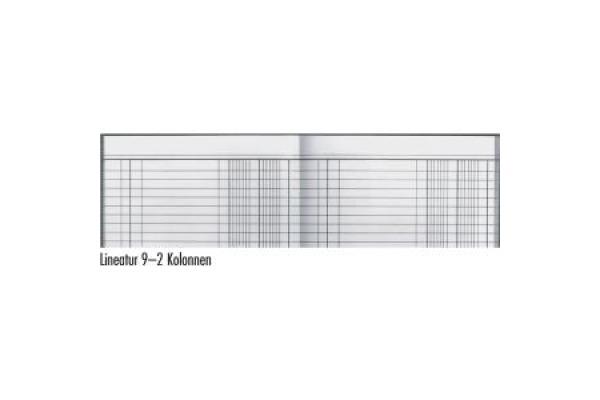 SIMPLEX Geschäftsbuch A4 17205 blau 120 Blatt