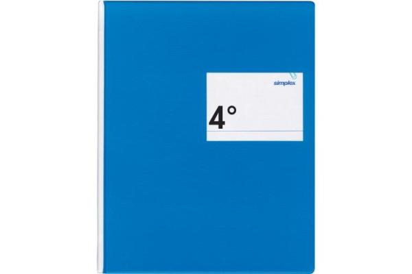 SIMPLEX Geschäftsbuch 17445 blau 40 Blatt