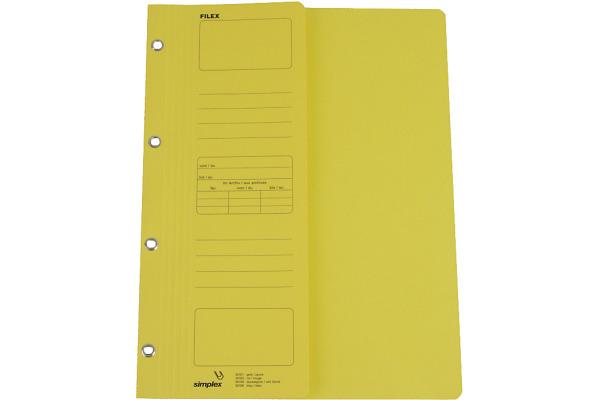 SIMPLEX Filex-Mappen A4 30101 gelb