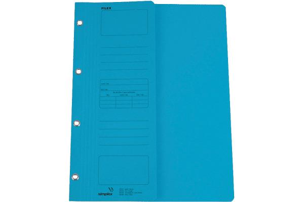 SIMPLEX Filex-Mappen A4 30106 blau