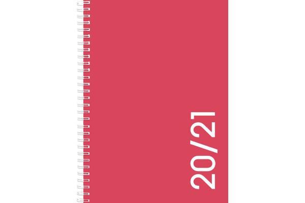 SIMPLEX Colors daily 20/21 A6 40140S721 coral, 12M