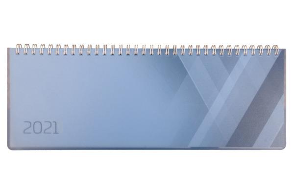 SIMPLEX Querkalender Colors 2021 40655.21 290x105mm,blau,1W/2S