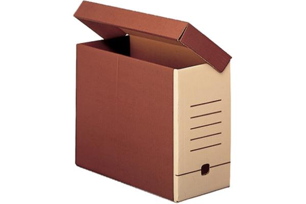 SIMPLEX Ablagebox A4 49339 braun/beige