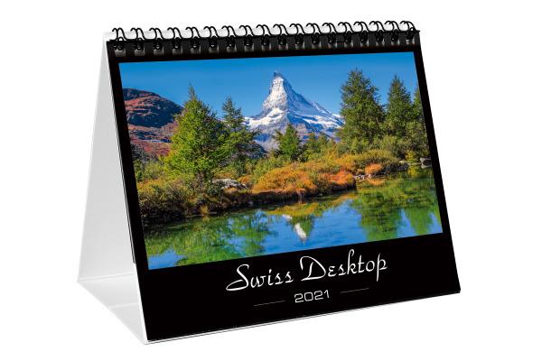 SIMPLEX Tisch-Monatskalender 2021 61110.21 155x125mm,1M/1S