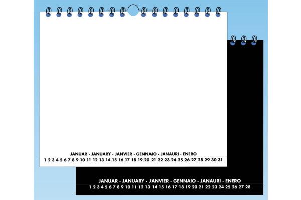 SINGLE Blankokal.s/w 343600 20x30cm hoch + quer