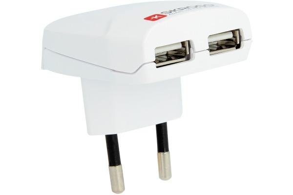 SKROSS Euro USB Charger 1.302420E 2 Port