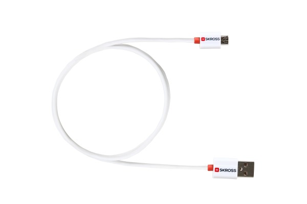 SKROSS Charge´n Sync 2.700202 Micro-USB white