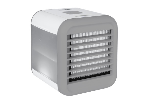 SONNENK. Ventilator 18cm 10301001 Fresh Cube, weiss mit LED