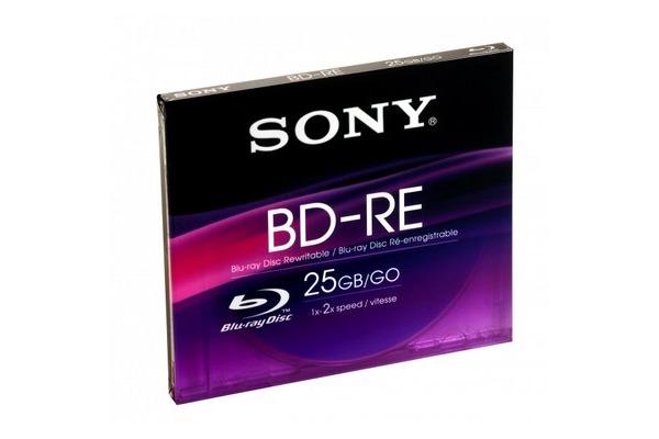 SONY BD-RE Slim Case 25GB BNE25SL 2x