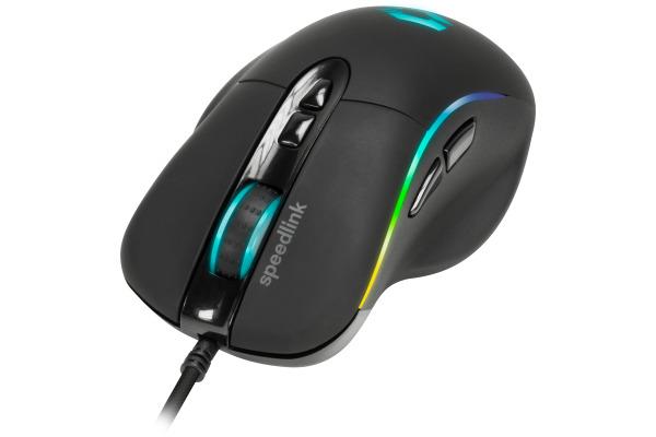 SPEEDLINK SICANOS RGB Gaming Mouse SL680013B USB, black
