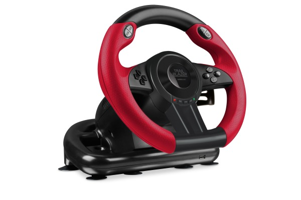 SPEEDLINK Racing Wheel TRAILBLAZER SL450500B Black for PS4/Xbox One/PS3