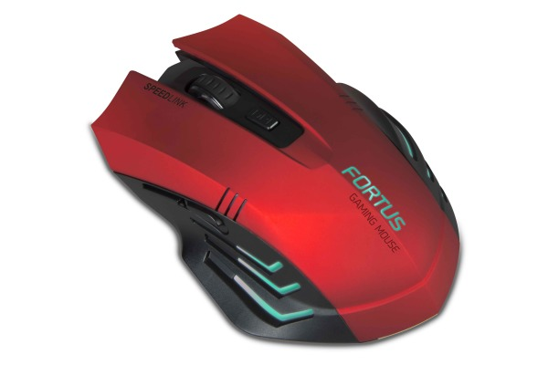 SPEEDLINK Wireless Gaming Mouse SL680100B FORTUS