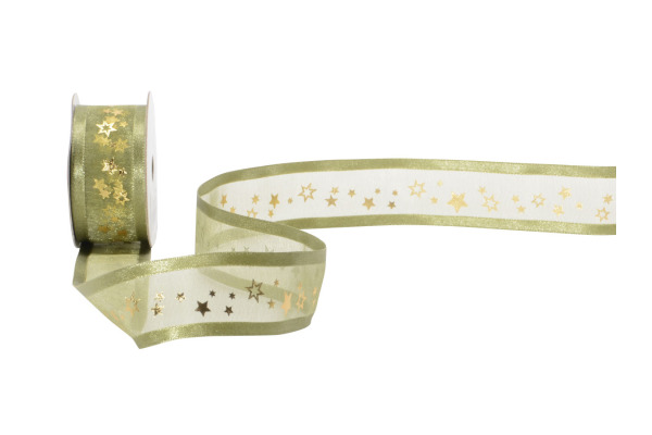 SPYK Band Cubino Sirius olive 1853.2554 25mm, 3m, Cubino-Minispule