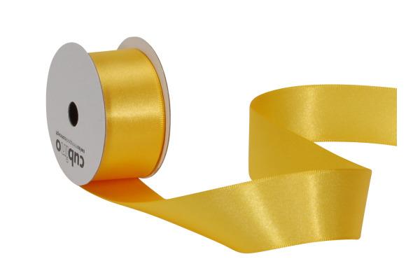 SPYK Satinband Cubino 2082.114 25mmx4m gelb