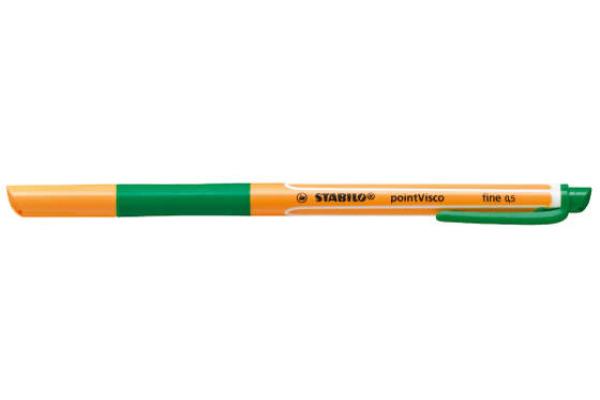 STABILO Tintenroller pointVisco 0,5mm 1099 36 grün