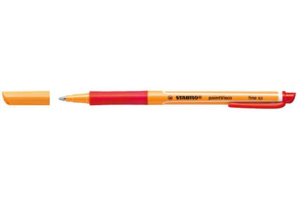 STABILO Tintenroller pointVisco 0,5mm 1099 40 rot