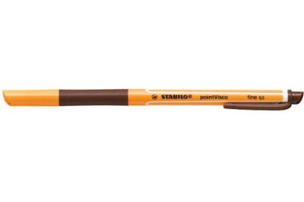 STABILO Tintenroller pointVisco 0,5mm 1099 45 braun