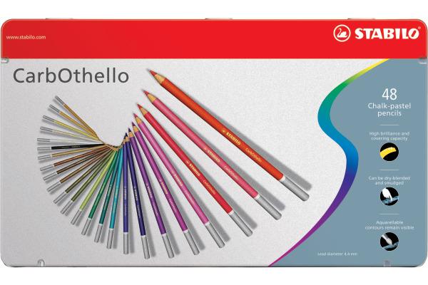STABILO CarbOthello Pastellkreidestift 1448-6 48 Farben