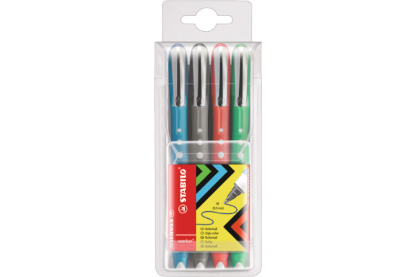 STABILO worker colorful Roller 0.5mm 2019 4 4 Farben...