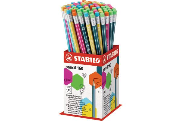 STABILO Bleistift 2160 72-1HB