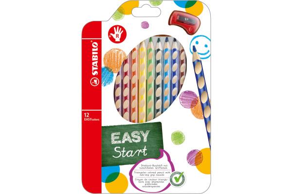 STABILO Farbstifte EASYcolors 332 12 12 Farben R