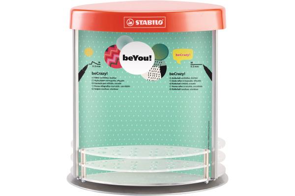 STABILO Display beYou beCrazy! 5064/5401 leer für 54 Stück