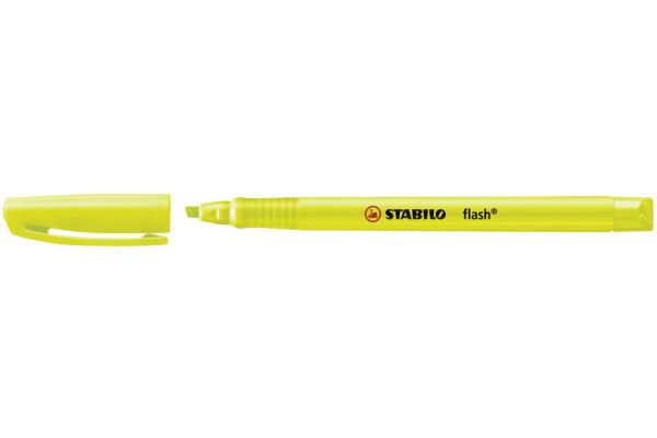 STABILO Textmarker FLASH 1/3,5mm 555/24 gelb