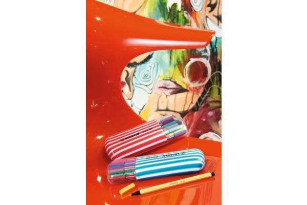 STABILO Fasermaler Pen 68 1mm 68 031 neonblau