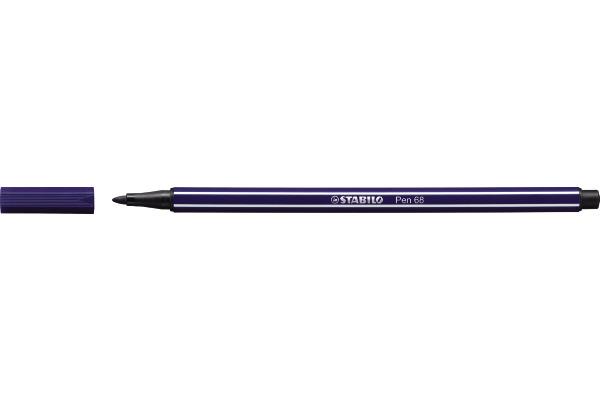 STABILO Fasermaler Pen 68 1mm 68 22 preussischblau