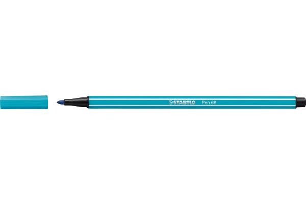 STABILO Fasermaler Pen 68 1mm 68 31 hellblau